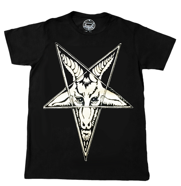 Mendes Goat T-shirt Occult Satanic Belial Clothing
