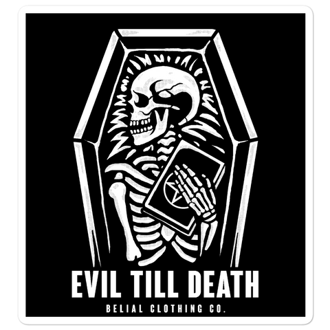 Till Death Bubble-free stickers