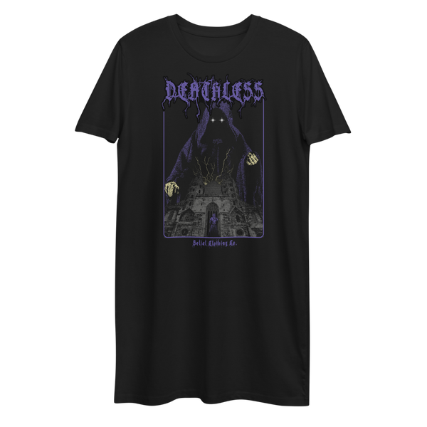 Deathless Organic cotton t-shirt dress