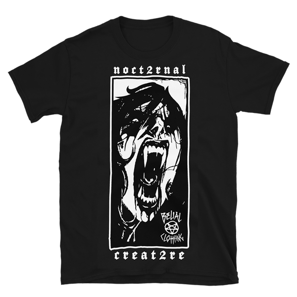 Nocturnal Creature Short-Sleeve Unisex T-Shirt
