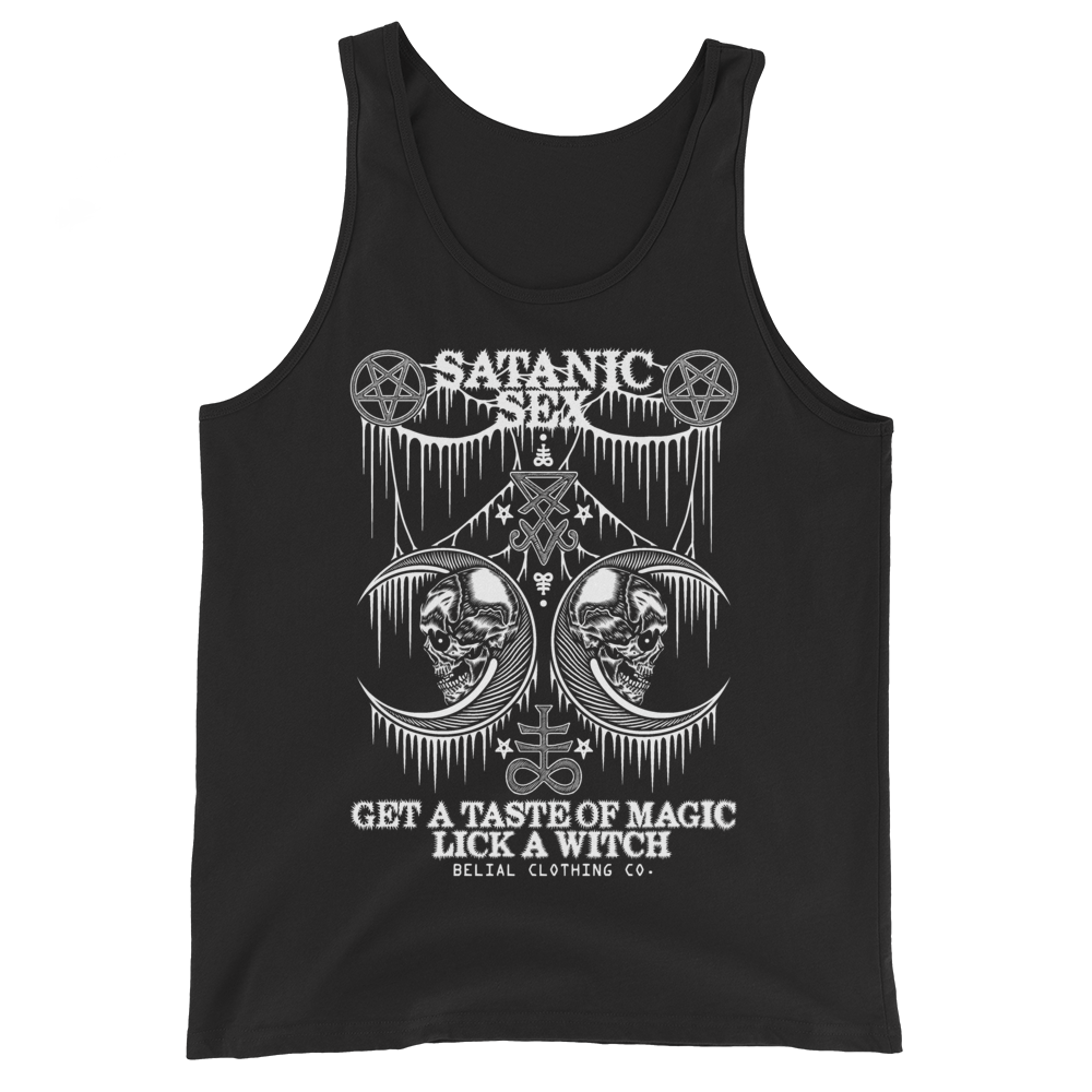 Satanic Sex Unisex Tank Top