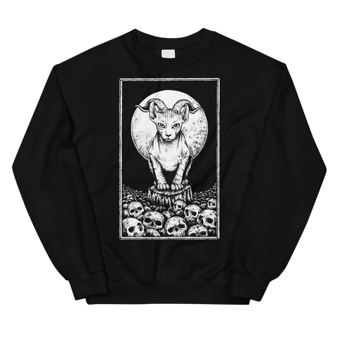 Hell Cat Unisex Sweatshirt