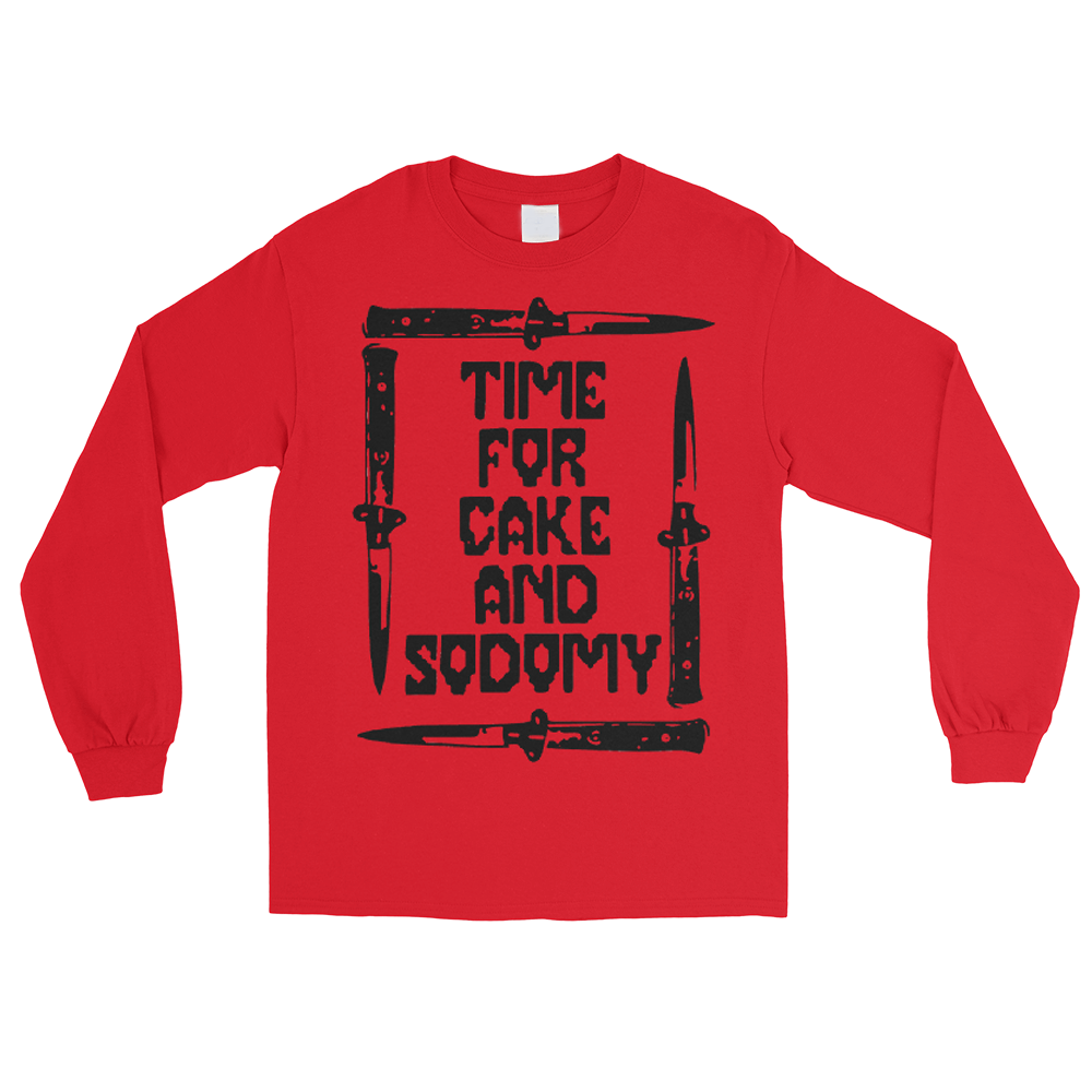 Cake & Sodomy Men's Long Sleeve Shirt