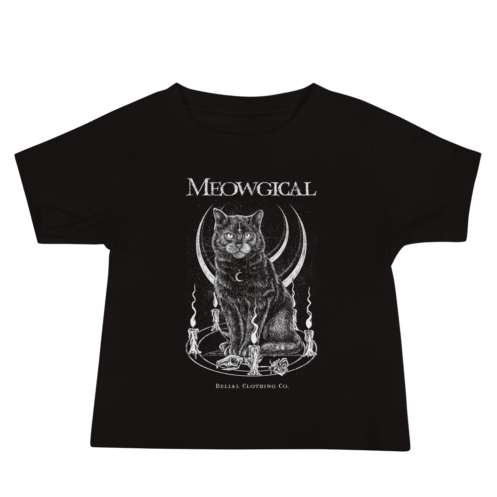 Meowgical Baby Jersey Short Sleeve Tee
