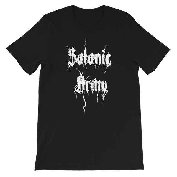 Satanic Army Short-Sleeve Unisex T-Shirt