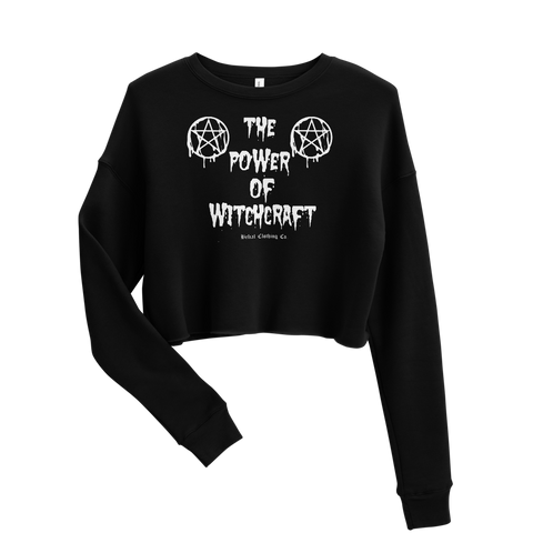 Witchcraft Crop Sweatshirt