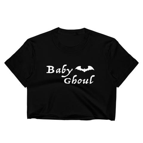 Baby Ghoul Women's Crop Top