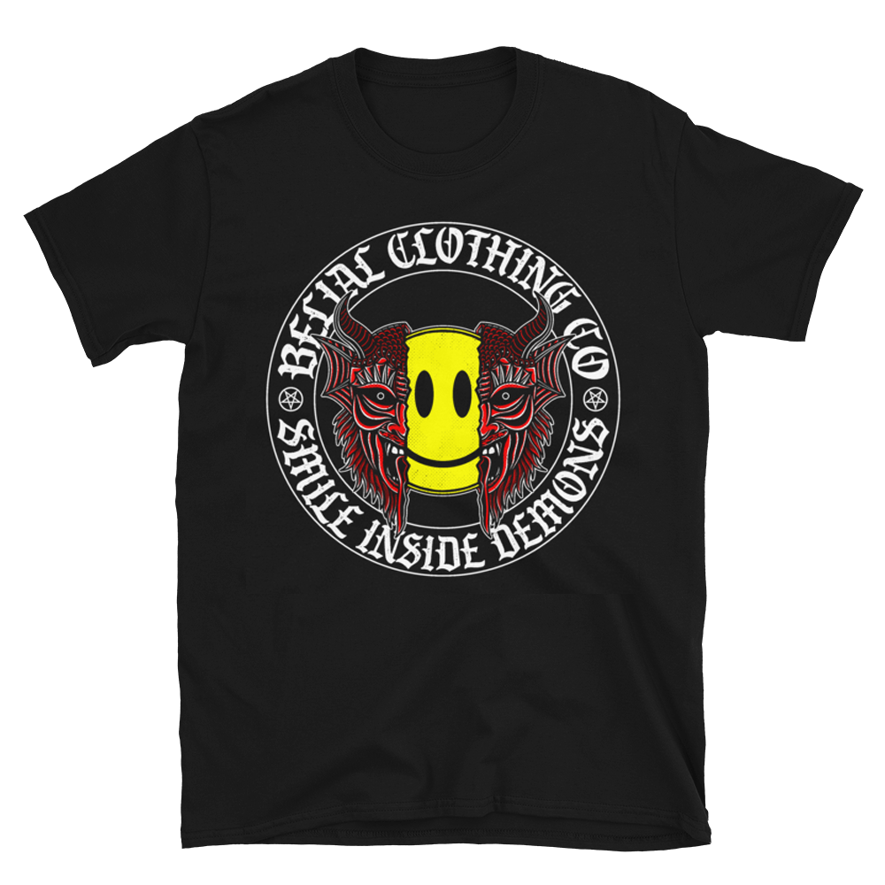 Smile Inside Demons Short-Sleeve Unisex T-Shirt