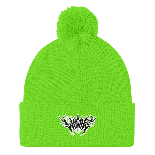 Whore Pom-Pom Beanie