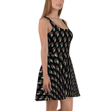 Messe Noire Skater Dress