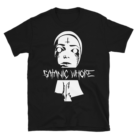 Satanic Whore Short-Sleeve Unisex T-Shirt