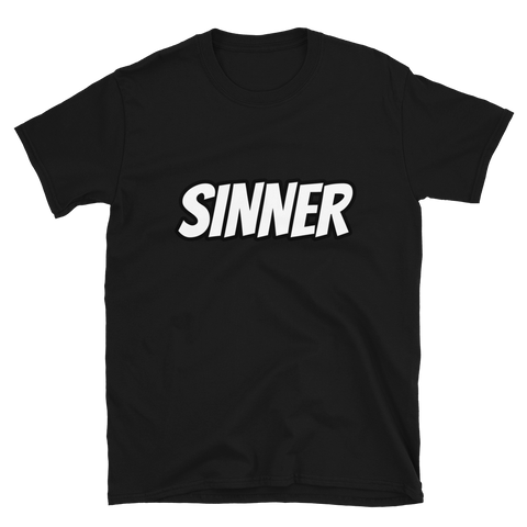Sinner Short-Sleeve Unisex T-Shirt