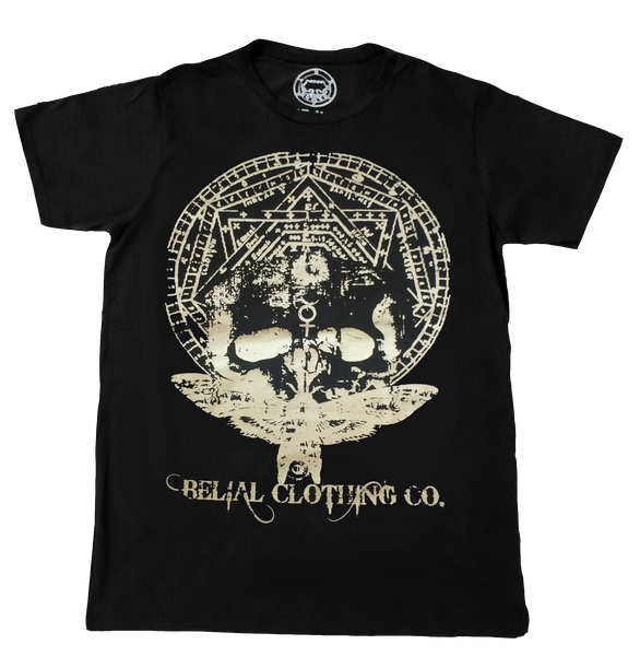 Moth of Death T-shirt Occult Satanic Belial Clothing