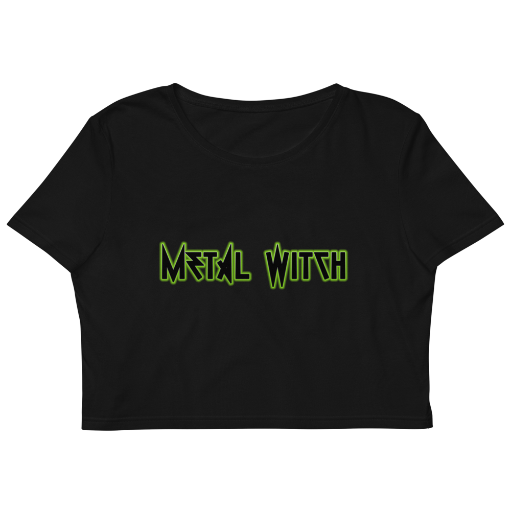 Metal Witch Organic Crop Top