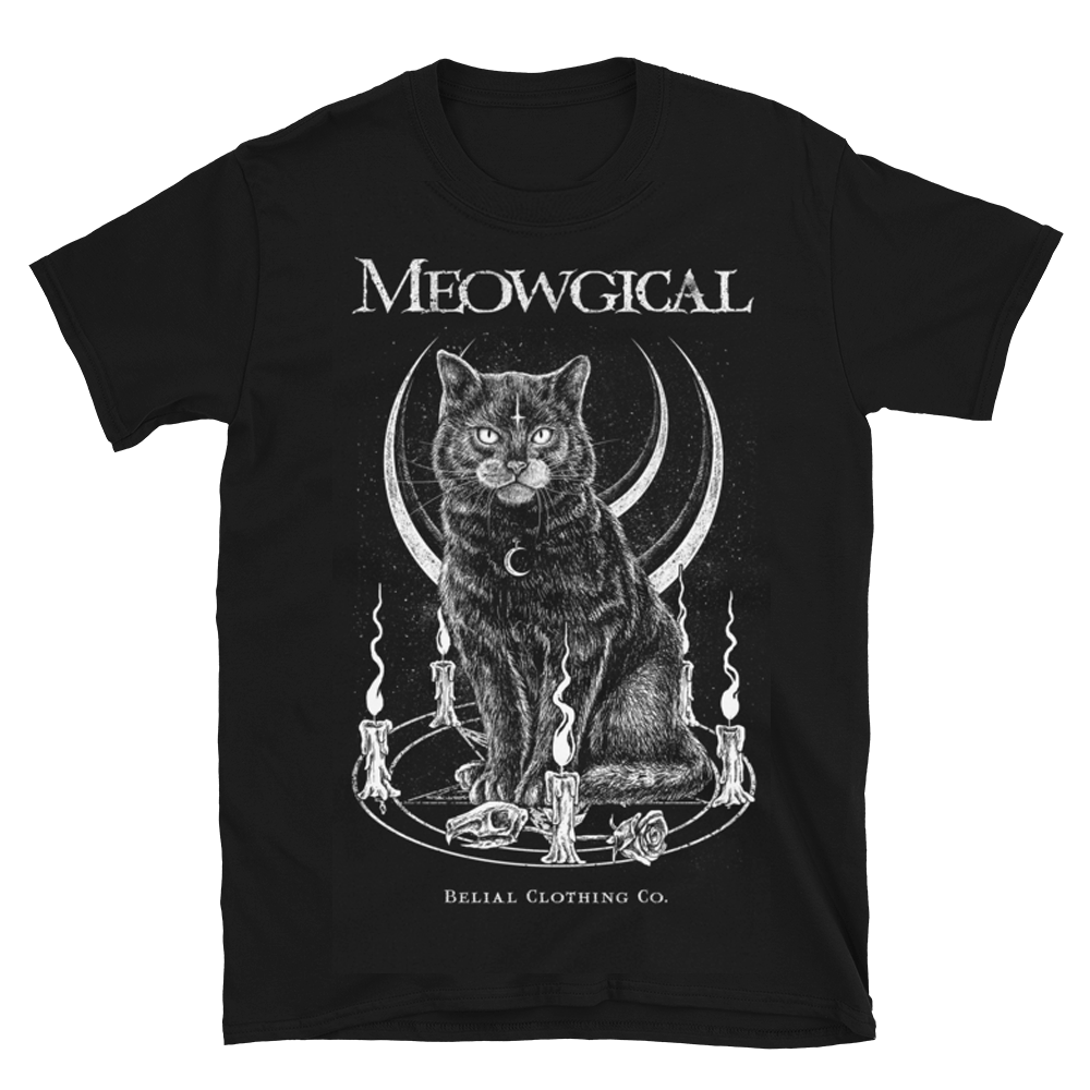 Meowgical Short-Sleeve Unisex T-Shirt