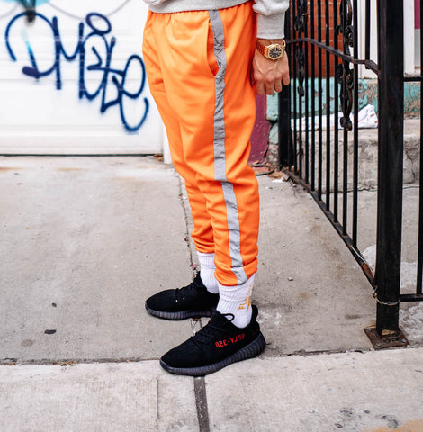 Shwim 3M Side Stripe Orange Pants