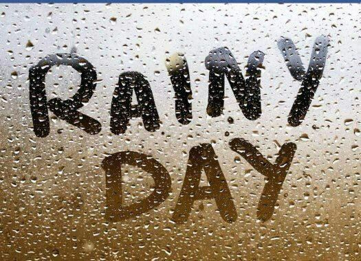 Rain, Hail or Shine - wear your sunscreen!