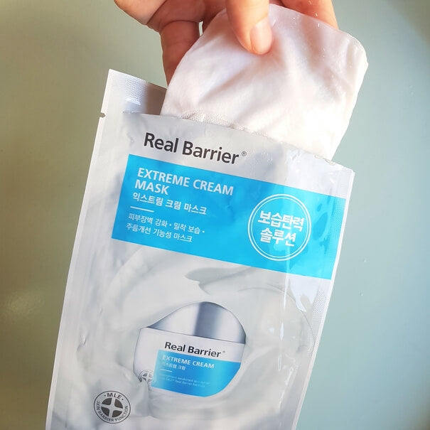 REAL BARRIER EXTREME CREAM MASK (5 Masks)