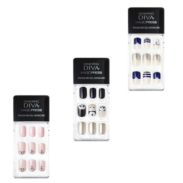 Dashing Diva Magic Press On Gel Nail Summer Edition Set A (3)