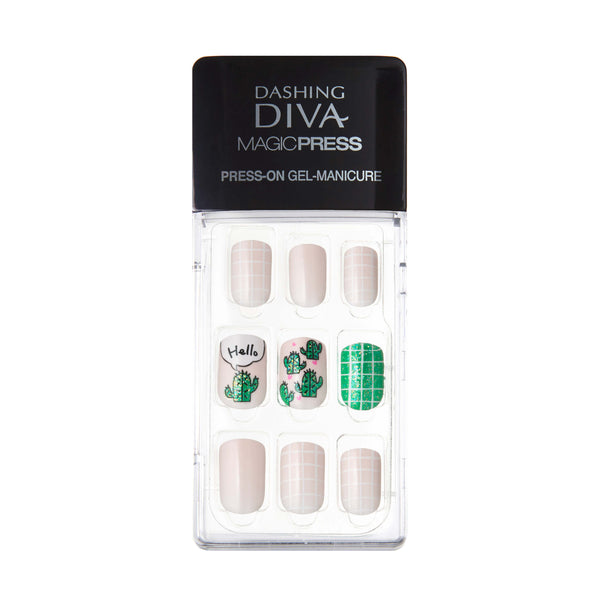 MAGIC PRESS GEL NAILS - CACTUS POT