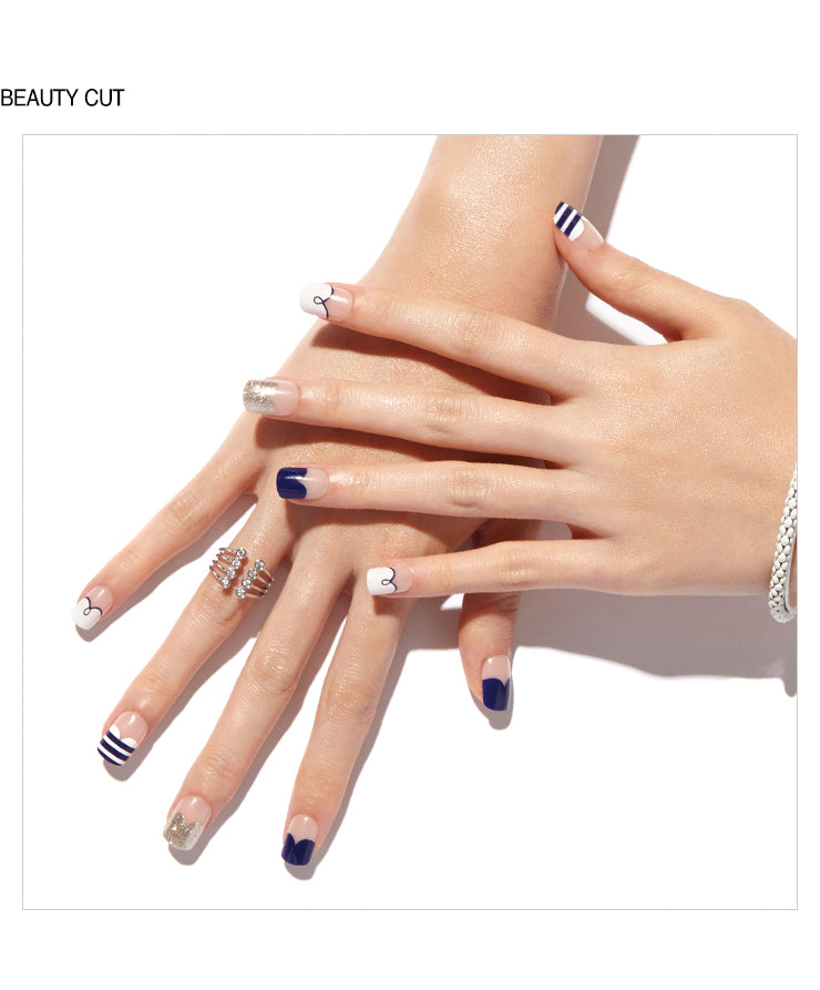 MAGIC PRESS GEL NAILS: PAIR MARINE - Franki & Seoul