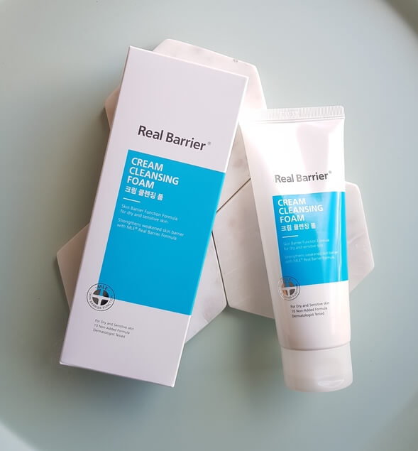 REAL BARRIER CREAM CLEANSING FOAM