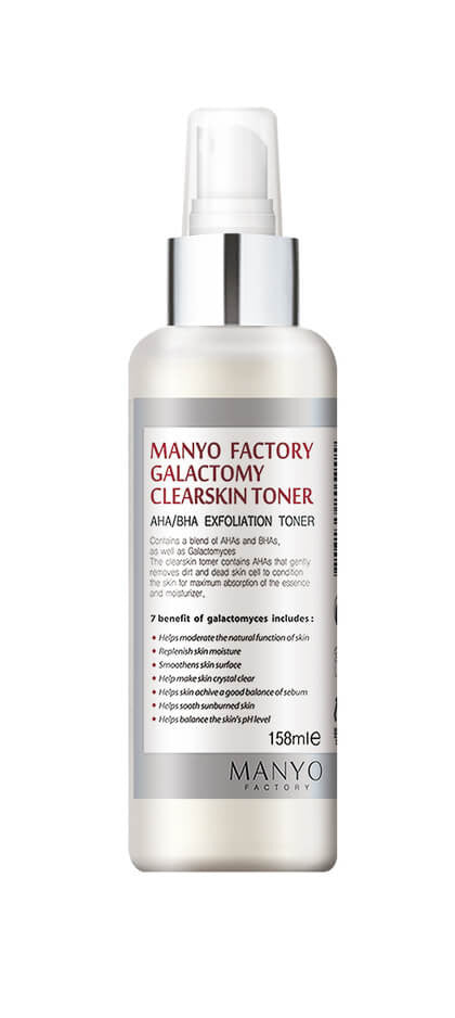 MANYO FACTORY GALACTOMY CLEARSKIN AHA/BHA EXFOLIATION TONER