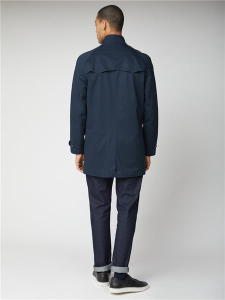 Ben Sherman Navy Harrington Mac