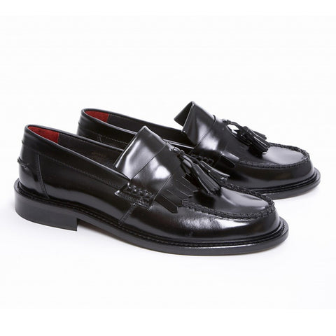 Delicious Junction Black Rude Boy Loafers
