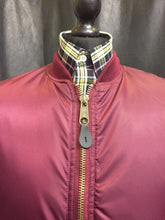 Load image into Gallery viewer, Burgundy MA1 Flight Bomber Jacket