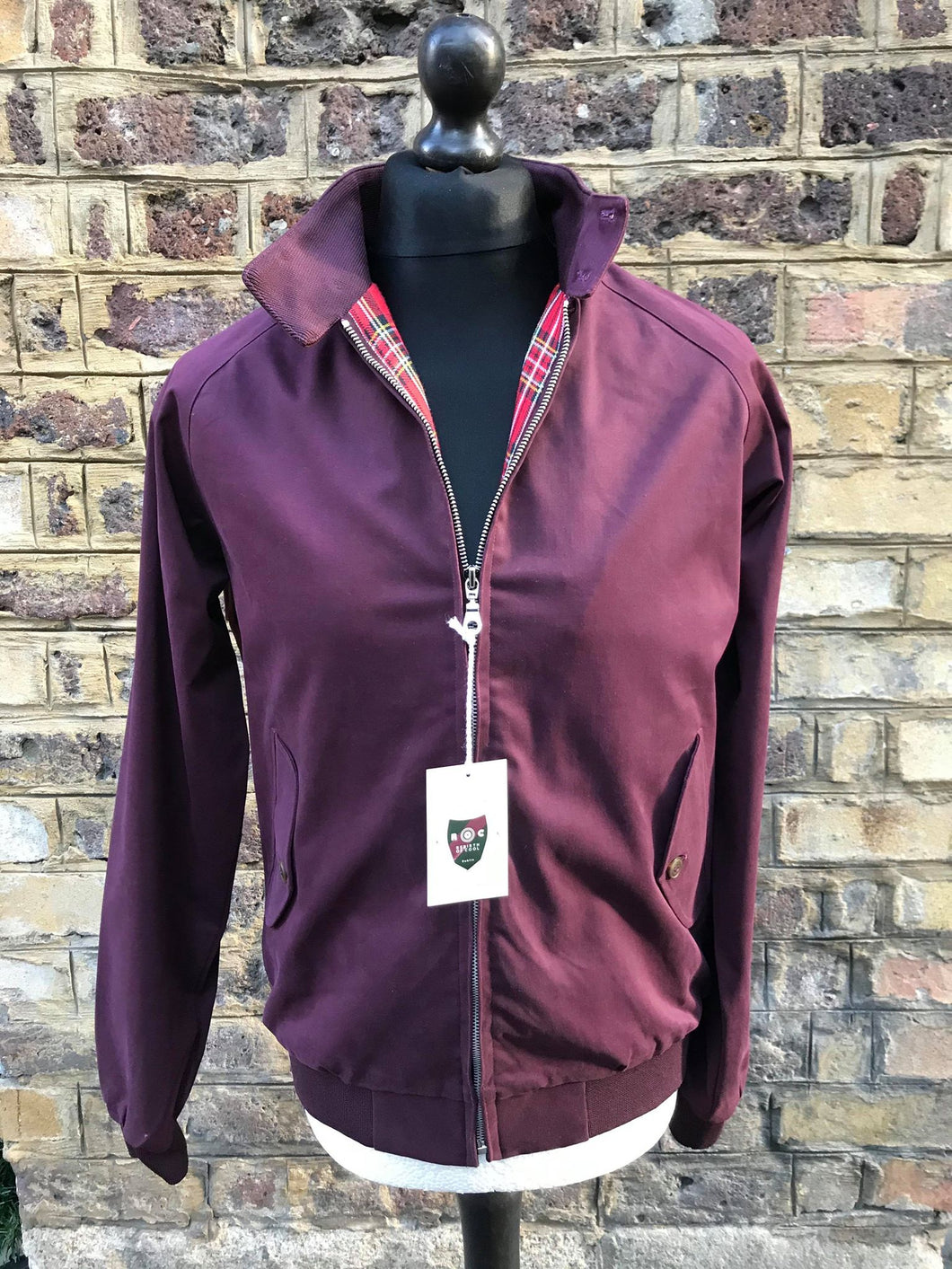 Rebirth of Cool Plum Harrington Jacket