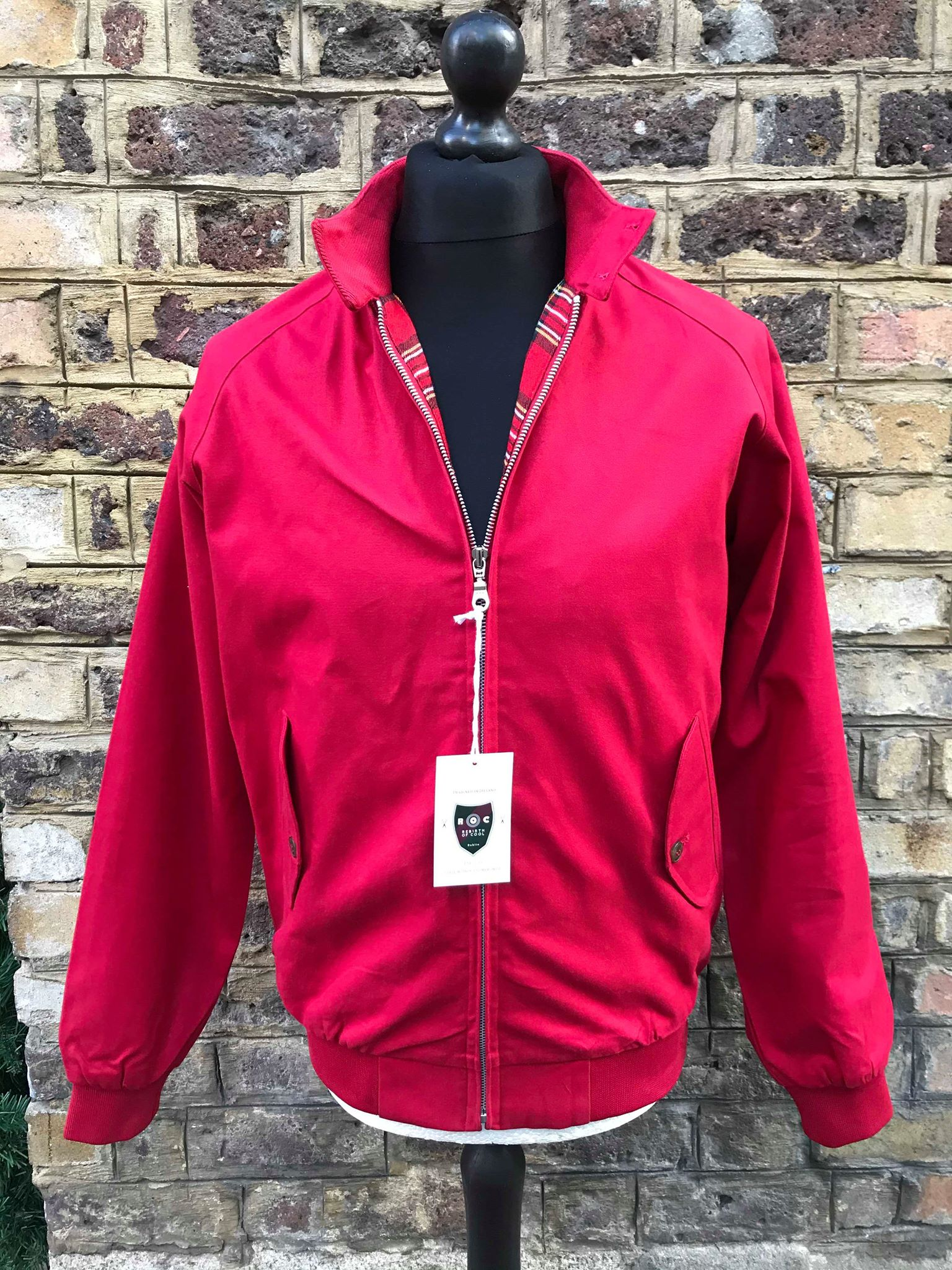 Rebirth of Cool Red Harrington Jacket