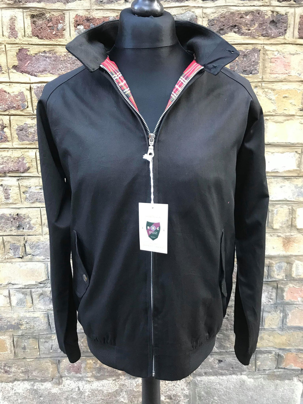 Rebirth of Cool Black Harrington Jacket