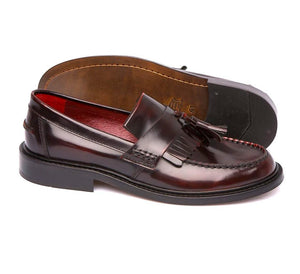 Delicious Junction Oxblood Rude Boy Loafers