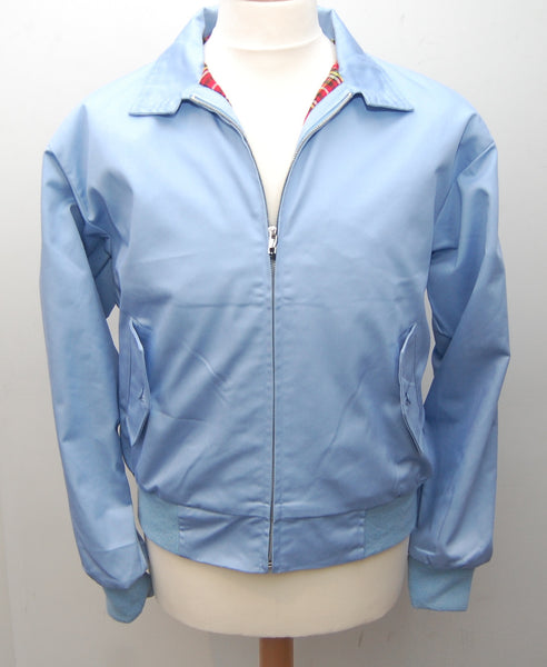 Relco Sky Blue Harrington Jacket