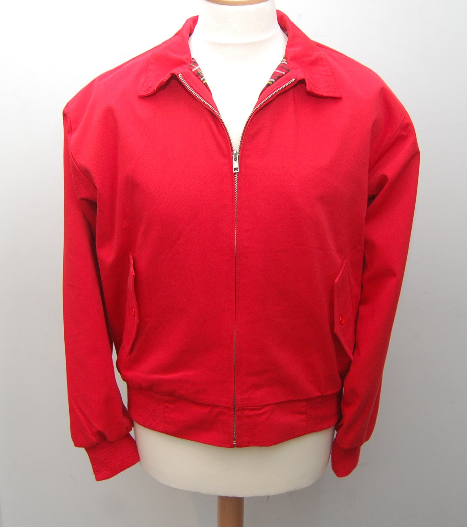 Relco Red Harrington Jacket