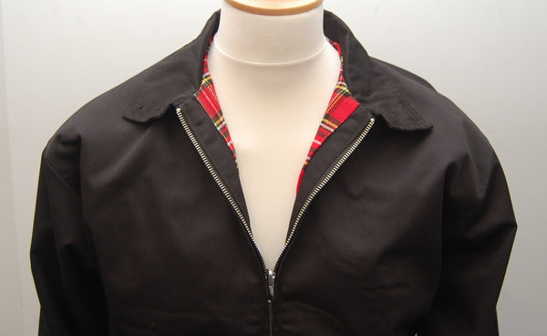 Relco Black Harrington Jacket