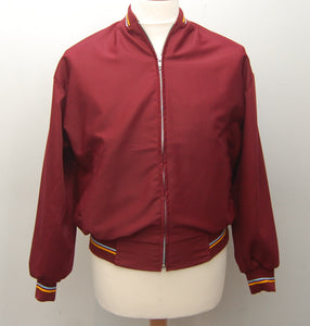 Burgundy Monkey Jacket