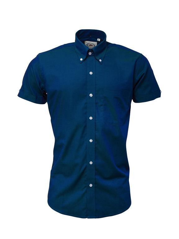 Relco Blue Tonic Short Sleeve Shirt