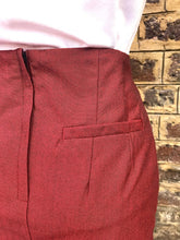 Load image into Gallery viewer, Relco Ladies Red Tonic Skirt