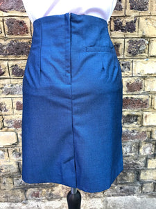 Relco Ladies Blue Tonic Skirt