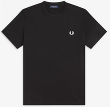 Load image into Gallery viewer, Fred perry black t-shirt