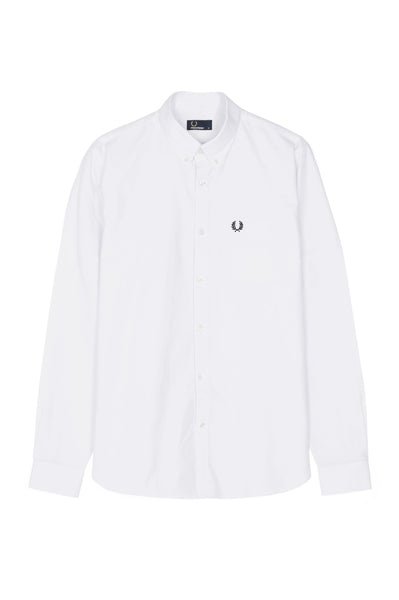 Fred Perry White Classic Oxford Shirt