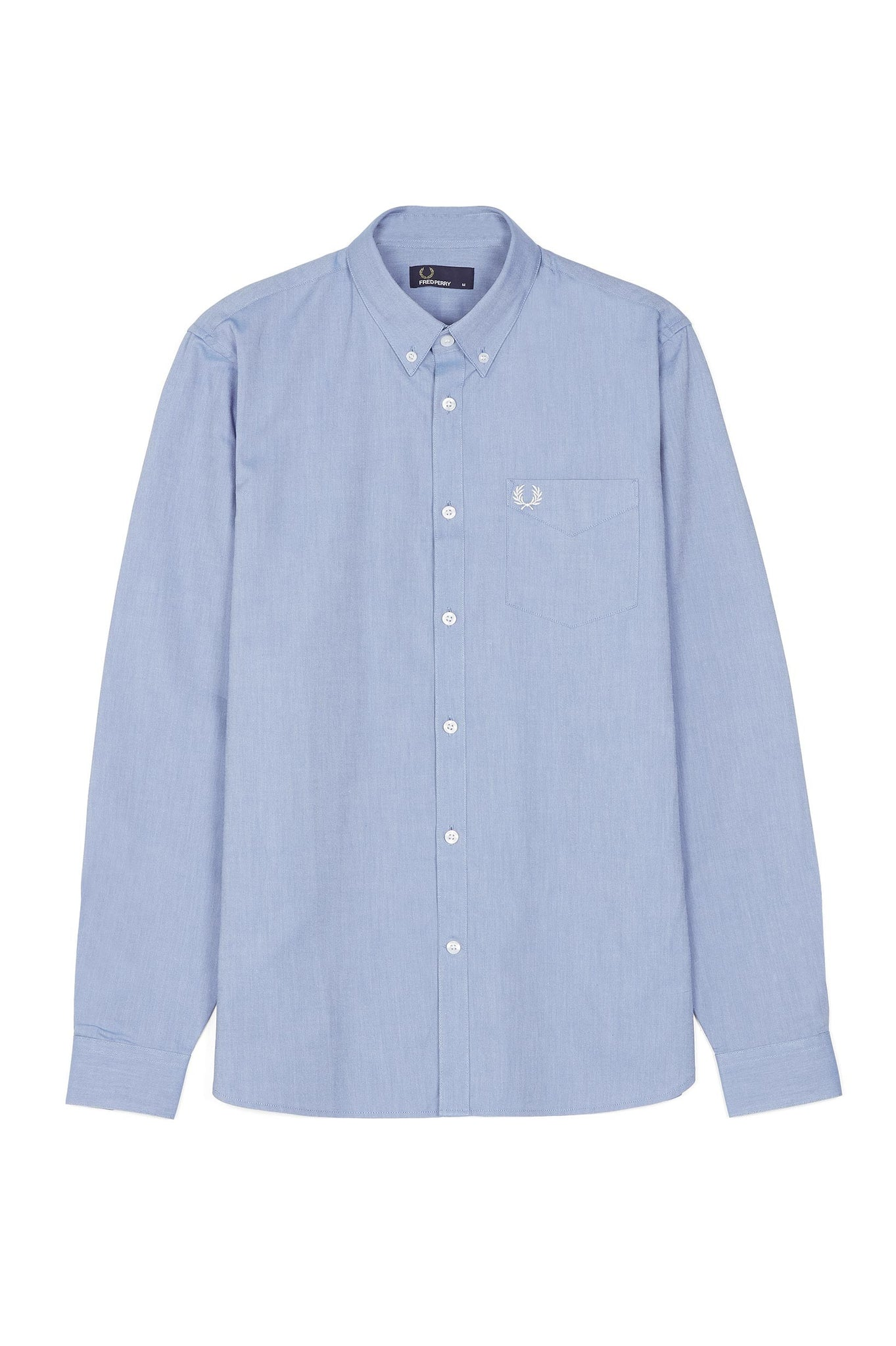 Fred Perry Light Smoke Classic Oxford Shirt