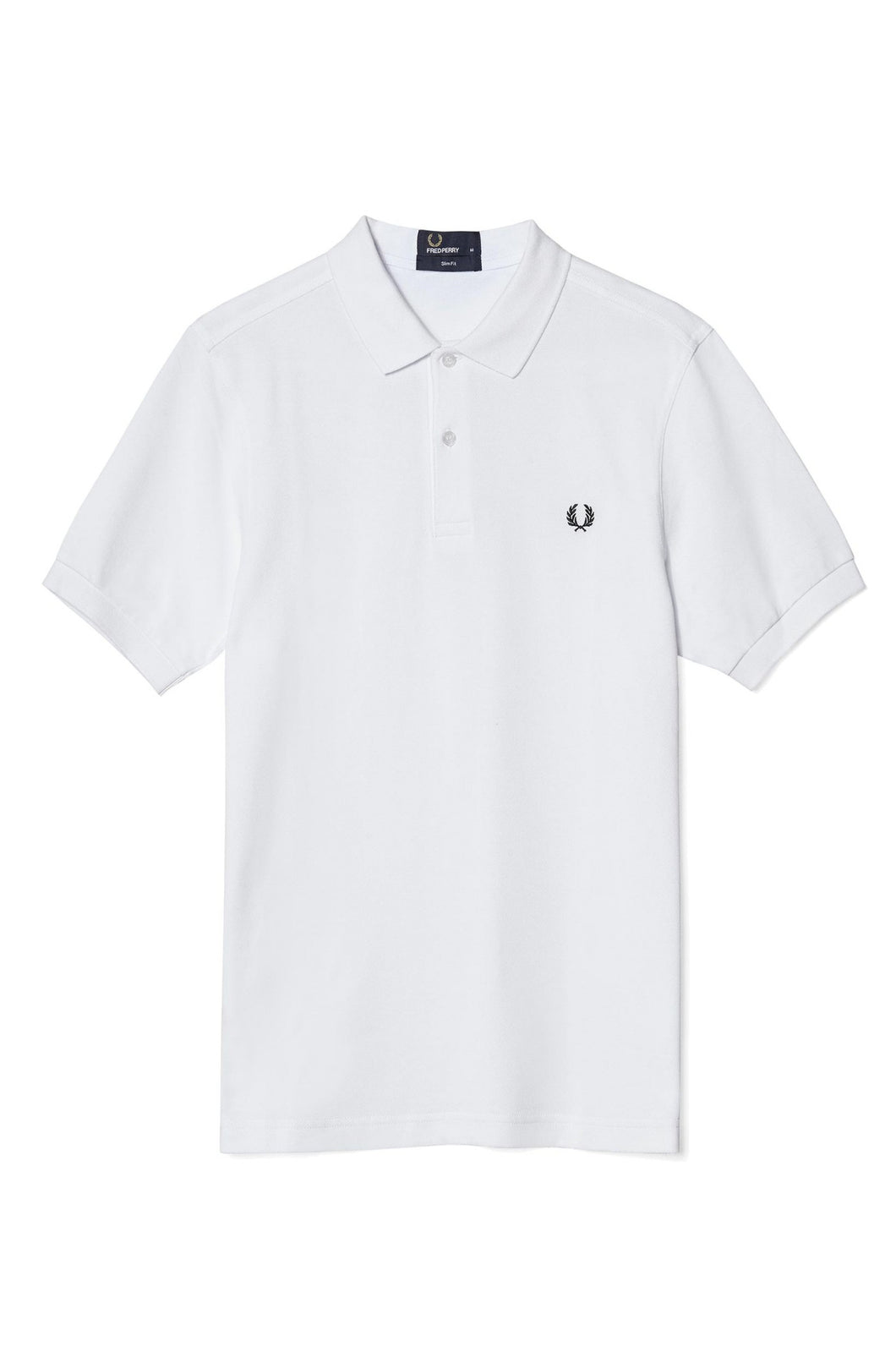 Fred Perry Plain White Polo M6000