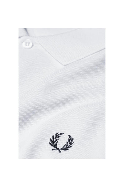 Fred Perry Plain White Polo