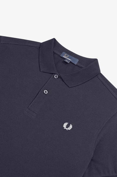 Fred Perry Plain Navy Polo M6000