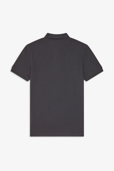 Fred Perry Plain Black Polo M6000