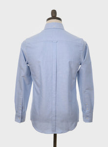 Art Gallery Clothing Sky Blue Kennedy Oxford Shirt