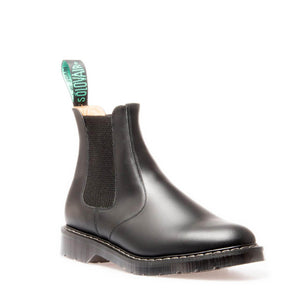 Solovair Black Dealer Boot
